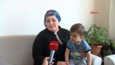 Gaziantep'te ameliyat parası dolandırılan Miraç'ın gözleri açıldı