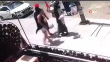 Küçükçekmece'de ekmeği düşüren kadına saldırı