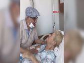 Samsun'da 58 yıldailk kez ayrı kalan çiftin duygulandıran buluşması