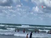 Şile'de yasağı hiçe sayan vatandaşlar, denize girmeye devam etti