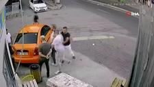 Ankara'da taksi durağında kavga