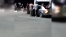 Avcılar'da çocuğa çarpan alkollü sürücüye dayak