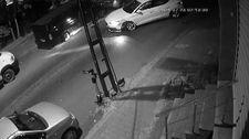 Kağıthane'de alkollü sürücü, park halindeki 5 otomobile çarptı