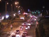 Kilit kavşak Kırıkkale'de bayram tatilinden dönüş yoğunluğu