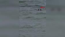 Sarıyer'de 3 kişiyi kurtarmak isterken denizde kaybolan gencin cesedine ulaşıldı