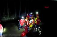Bursa'da kanyonda düşen şahıs, 4 saatte kurtarılabildi