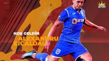 Galatasaray, Alexandru Cicaldau'yu açıkladı