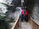 Kastamonu'da kanyonda düşen kadın sedye ile 1 kilometre taşındı