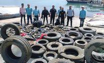 Adana sahillerinden traktör tekeri de çıktı, klozet de