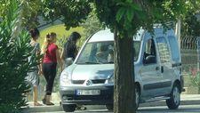 Gaziantep'te yolun ortasında fuhuş pazarlığı