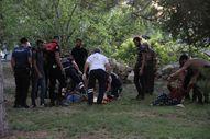 Karaman'da komşuların silahlı kavgası kanlı bitti