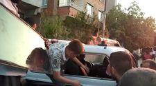 Şanlıurfa'da arabada kilitli kalan çocuk, cam sökülerek kurtarıldı