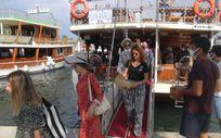 Muğla'da tekneciler bayram bereketi yaşadı
