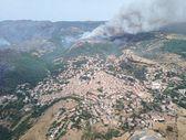 Sardinya Adası'nda yangın: 1500'den fazla kişi tahliye edildi