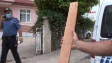 Tokat'ta sırasını beklemesini söyleyen doktora 'çivili tahta'yla saldırdı