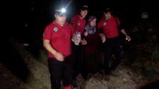 Uludağ'da kaybolan kadın 3 gün sonra sağ bulundu