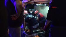 Zonguldak'ta otomobil ile hafif ticari araç çarpıştı