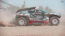 Audi'den elektrikli Dakar yarışçısı: RS Q e-tron