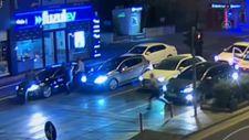 Kahramanmaraş'ta polisi aracın kaputunda sürükledi
