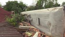 Kastamonu'da memurları taşıyan otobüs ile otomobil çarpıştı