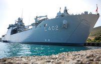 Mavi Vatan'ın koruyucusu TCG Bayraktar gemisinin içi ilk kez görüntülendi