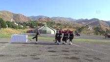 Pençe Harekatı bölgesinde şehit olan asker için Hakkari'de tören düzenlendi