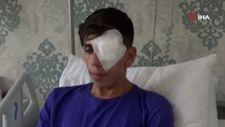 Diyarbakır'da patlatılan maytap, 17 yaşındaki genci gözünden etti