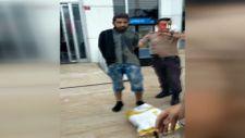 Esenyurt'ta bekçilerin dikkati hırsızı kıskıvrak yakalattı
