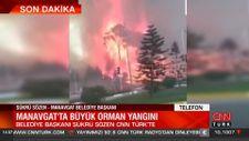 Manavgat Belediye Başkanı: Yangının boyutu çok büyük
