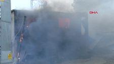 Kozan'daki orman yangınına müdahaleler sürüyor
