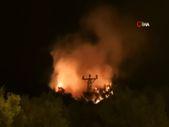 Manisa'da da orman yangını başladı