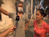 Mersin'de evleri yanan vatandaşlar: Canımızı zor kurtardık