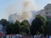 Rusya'nın İstanbul Konsolosluğu'nda yangın çıktı