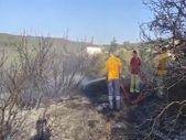 Bilecik'te ormanlık alanda yangın