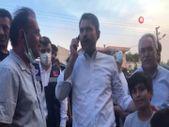 Murat Kurum'dan top sahası yanan çocuklara yeni saha sözü