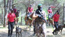 Sultangazi Kent Ormanı'nda polislerden denetim
