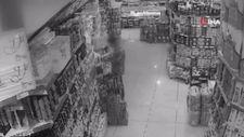Adıyaman'da parfüm hırsızı kameralara yansıdı