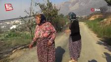 Aydıncık'taki yangından etkilenenler yaşadıklarını anlattı