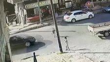 Arnavutköy'de çocuğa otomobil çarptı