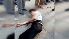 Bursa'da kızların görüntülerini çeken şahıs linç edildi