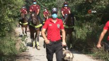 Çekmeköy'de orman yangınlarına karşı atlı denetim gerçekleştirildi