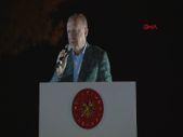 Cumhurbaşkanı Erdoğan yangın bölgesi Marmaris'te