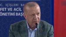 Erdoğan: Yangın bölgelerine 50 milyon lira ödenek gönderildi