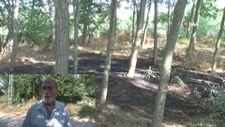 Ormanın yandığını gören köylüler erken müdahale ile facianın önüne geçti