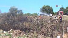 Sinop'ta çöpleri yakmak isteyen bir vatandaş yangına neden oldu