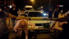 Bursa'da damada öküz boyunduruğu takıp, araç çektirdiler