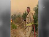 Manavgat'ta hayatını kaybeden orman işçisi Yaşar Cinbaş'ın son görüntüsü