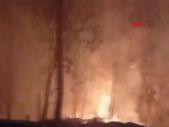 Samsun'da küçük çaplı örtü yangını