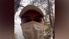 Alperen Duymaz, Fethiye'de yangın bölgesinde