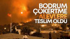 Çökertme'yi küle çeviren yangının sarsıcı görüntüleri